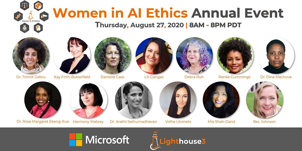 Organizer of Women in AI Ethics Annual Event – 2020