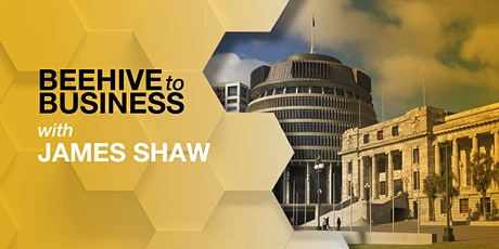 Beehive to Business with Hon James Shaw tickets