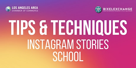 Tips and Techniques: Instagram Stories School tickets