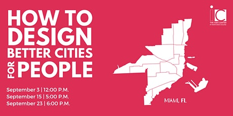 How to Design Better Cities for People tickets