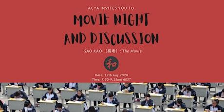 ACYA Movie Night and Discussions: Gao Kao(高考) tickets