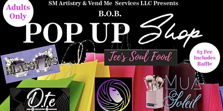B. O. B. POP UP SHOP tickets