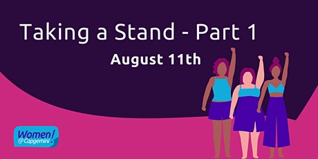 Taking a Stand (Pt. 1) tickets