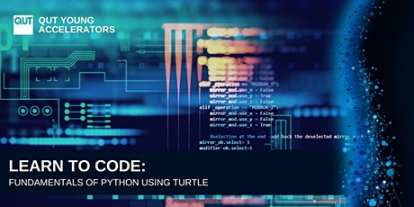 QUT - Learn to Code: Fundamentals of Python using Turtle tickets