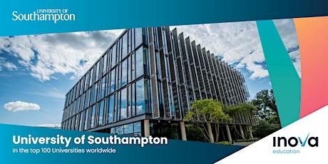 Estudia en Universidad de Southampton - sesión informativa en línea tickets