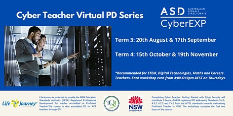 2020 Cyber Teacher Virtual Workshop Series - 15 October tickets