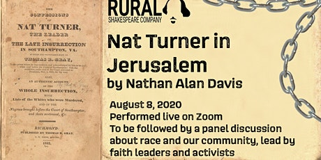 Nat Turner in Jerusalem tickets