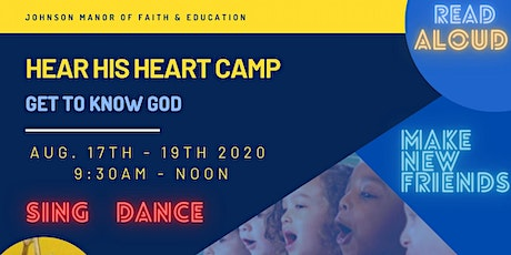 Hear His Heart Camp: Get to Know God tickets