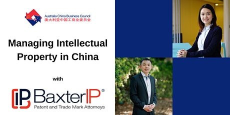 Patent and Trade Mark Protection in Australia and China tickets