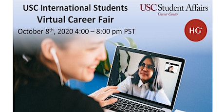 USC International Students Virtual Career Fair tickets