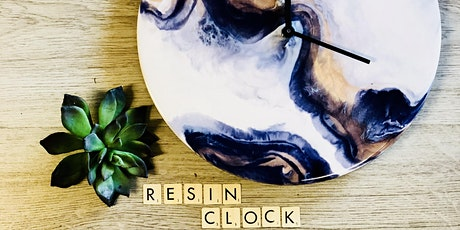 Resin Clock Workshop tickets