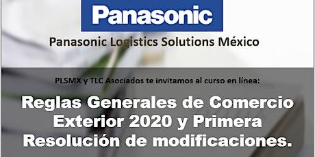 RGCE 2020 Y PRIMERA RESOLUCION DE MODIFICACIONES entradas