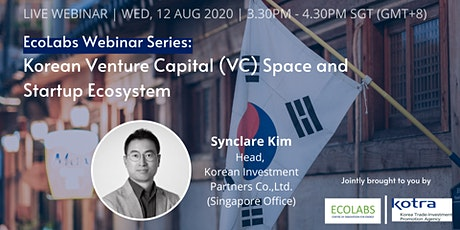 [Free Webinar] Korean Venture Capital (VC) Space and Startup Ecosystem tickets
