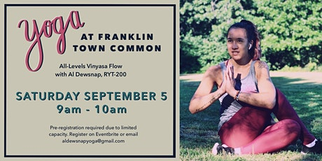 Yoga at Franklin Common tickets