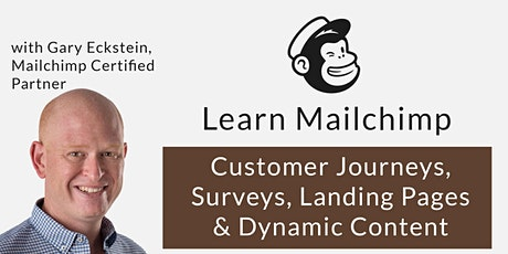 Mailchimp Masterclass | Advanced Functionality | Small Live Online Class tickets