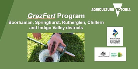 GrazFert Program: Boorhaman/ Springhurst/Rutherglen/ Chiltern/Indigo Valley tickets