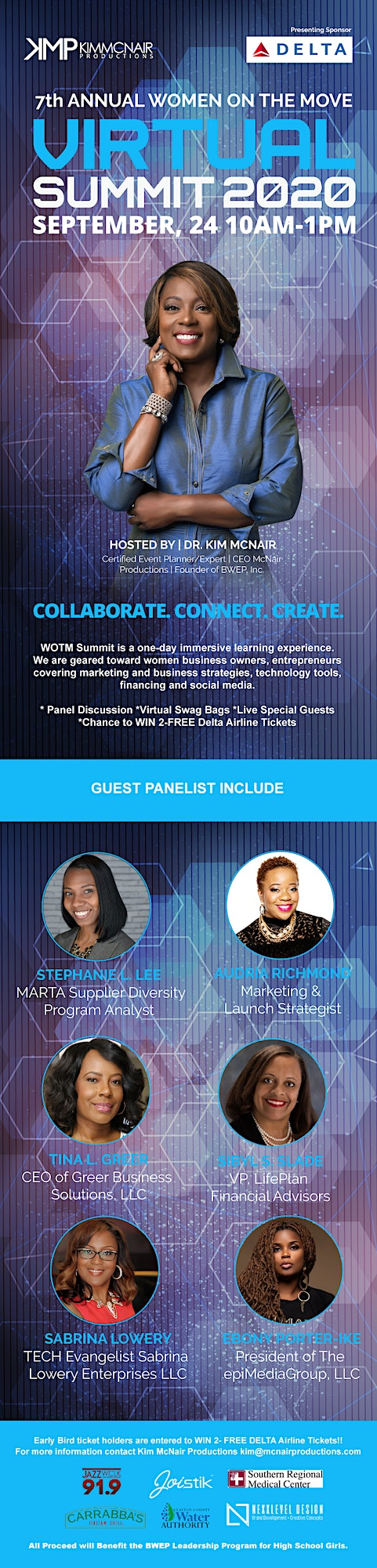 7th Annual Women on the Move VIRTUAL Summit 2020 image