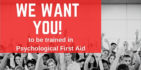 Psychological First Aid Training - Australian Red Cross tickets