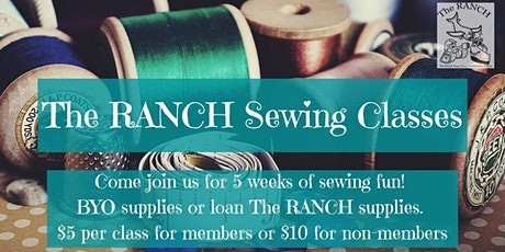 Sewing Classes  -  Week 5 (Pick your own project!) tickets