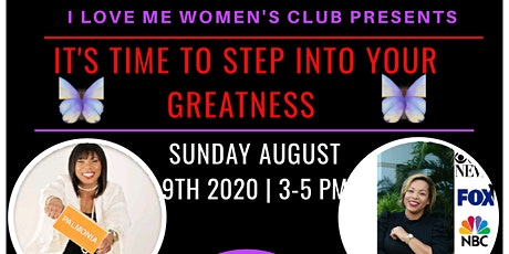 It's Time to Step into Your Greatness tickets