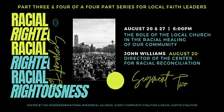 Racial Righteousness | Segment Two tickets