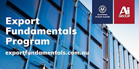 Export Fundamentals Online Workshop: Series 7 - Goods Exporting Tickets