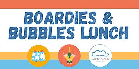 Boardies & Bubbles Lunch tickets