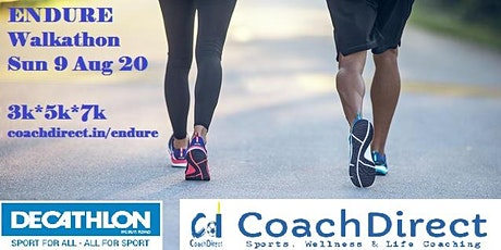 ENDURE: FREE Virtual Walkathon 3km/5km/7km tickets