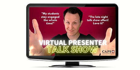 Talk Show Flow (25per / 3pm ET):    Full Virtual Control Over Zoom tickets