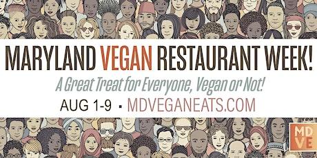 Maryland Vegan Restaurant Week tickets