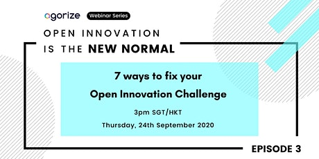 [Webinar Series] EP 3: 7 ways to fix your Open Innovation Challenge tickets