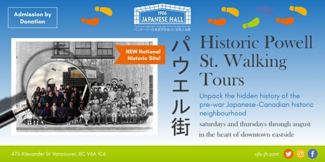 Historic Powell Street Walking Tours tickets