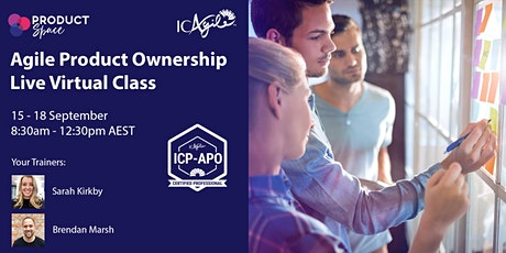 ICAgile Certified Product Ownership Course (LIVE virtual class) tickets