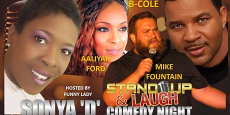 Stand Up & Laugh Community Comedy Show-Safe Social Distance Seating tickets