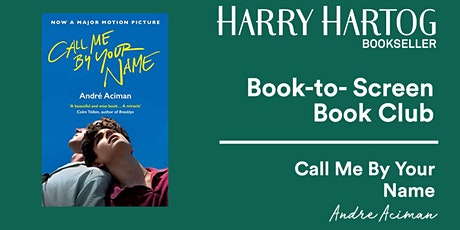 Book-to-Screen Book Club: Call Me By Your Name tickets
