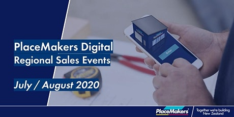 PlaceMakers Digital Regional Sales Event - Christchurch tickets