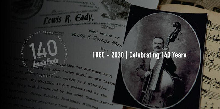 Lewis Eady 140th Anniversary Celebrations with NZTrio image