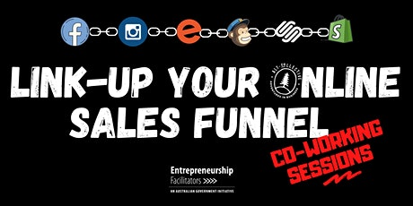 Link-Up Your Online Sales Funnel - Morning Co-Working Session tickets