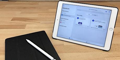 Digitale Arbeitsabläufe am iPad mit Schoolwork organisieren - Teil 2/2 Tickets