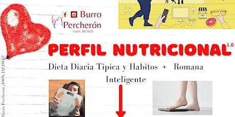Perfil Nutricional entradas