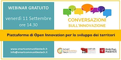 Le conversazioni sull'innovazione del Cluster Smart Communities #4 biglietti
