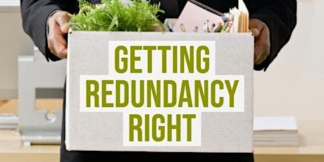 Redundancy - Avoiding the Pitfalls! tickets