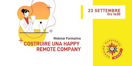 #IWHAW2020 Costruire una Happy Remote Company biglietti