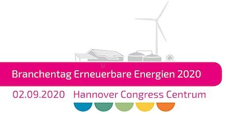 Branchentag Erneuerbare Energien 2020 Tickets