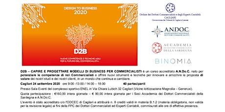 D2B - Capire e progettare modelli di business per Commercialisti biglietti