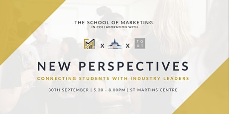 **SOLD OUT**New Perspectives Industry Networking tickets