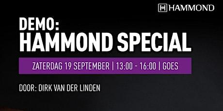 Hammond Special tickets