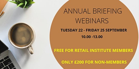 Retail Institute Briefing (non members) tickets