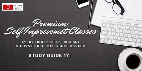 PREMIUM SELF-IMPROVEMENT CLASSES — STUDY GUIDE 17 tickets
