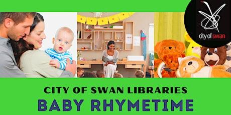 Bullsbrook Library Rhymetime (Thursdays 10.30 Session) tickets
